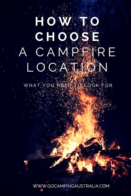 Where to build a campfire - tips on choosing the right campfire location