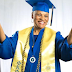 72-year-old grandmother graduates from the same university she dropped out from 55 years ago