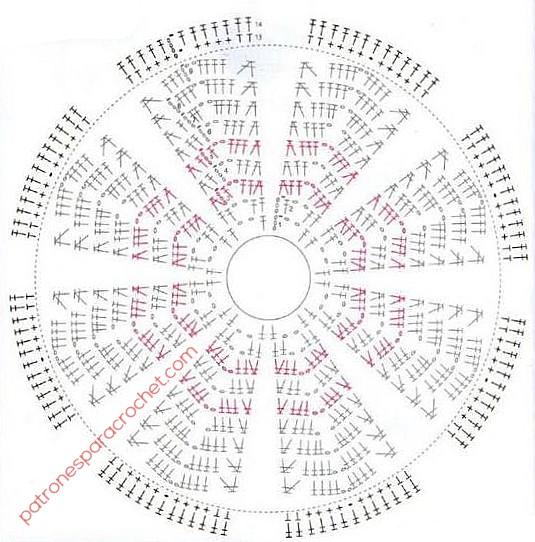 diagrama-gorro-crochet-disney
