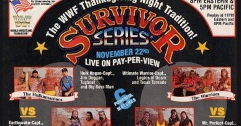 PPV REVIEW: WWF Survivor Series 1990 ~ Retro Pro Wrestling Reviews