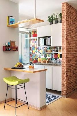 5 Ide Meja Bar Dapur Minimalis (Untuk Dapur Semp