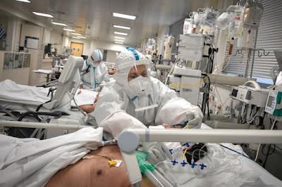 La saturation des hôpitaux de Thessalonique