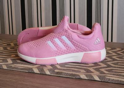 Sepatu Adidas Madoru Boost Women (import) Pink White