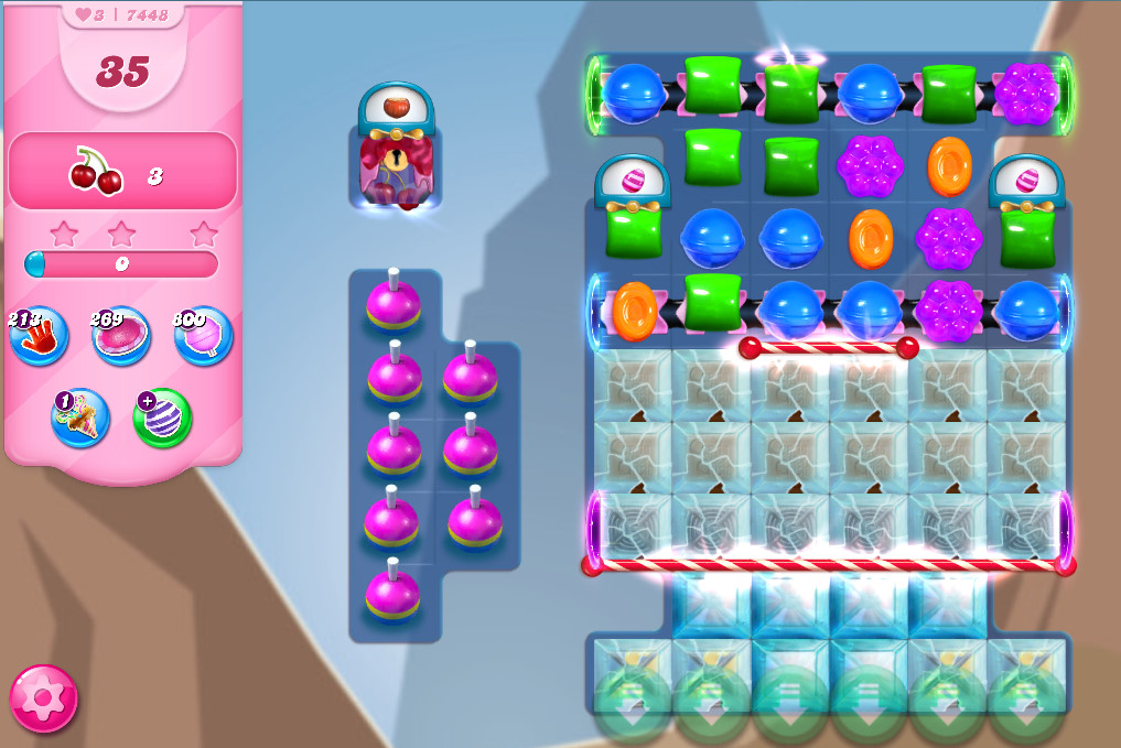 Candy Crush Saga level 7448