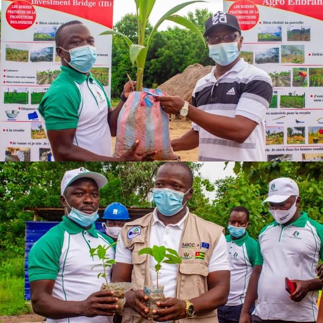 La journée de l'arbre : L'entreprise Agro Enbratos offre des jeunes plants aux communes Ogou 3 et Haho 4