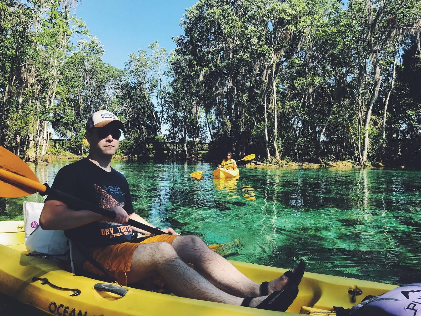 crystal river manatee kayak 9