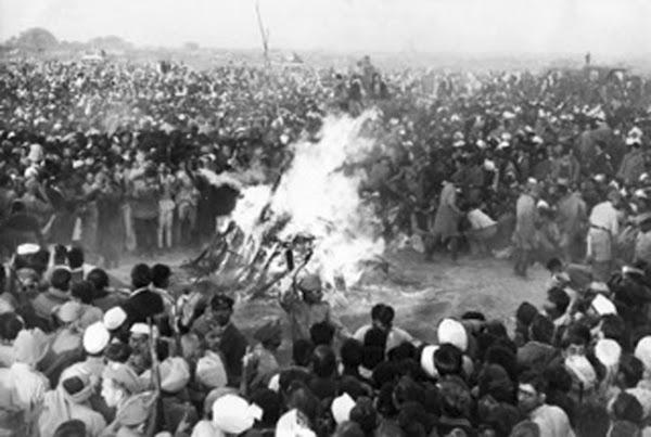 Tập tục hỏa táng và thiêu xác ở Ấn Độ hiện đại