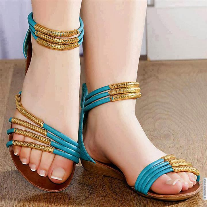 925367c24170df Latest And Stylish Flat Sandals For Young Girls From 2014