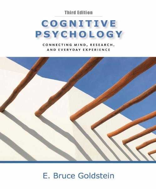 Cognitive Psychology, Thirtd Edition