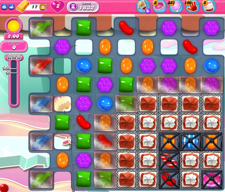 Candy Crush Saga 1832