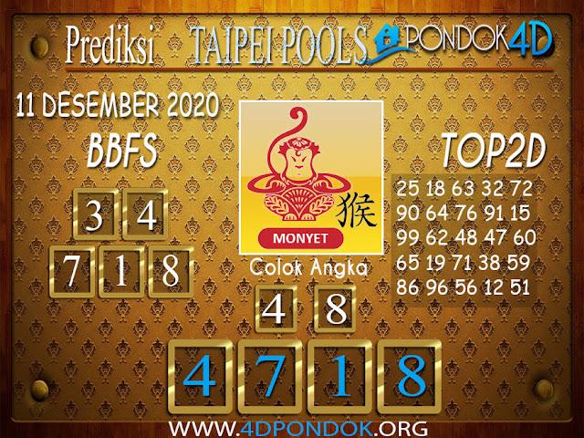 Prediksi Togel TAIPEI PONDOK4D 11 DESEMBER 2020