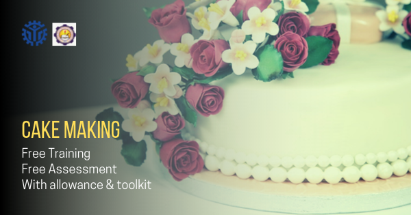 Cake Making | Free with Allowance & Toolkit