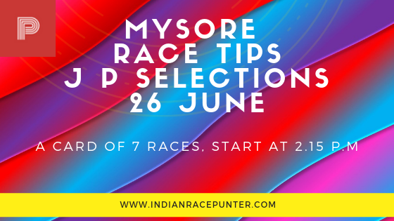 mysore Race Tips by indianracepunter, Trackeagle, Racingpulse