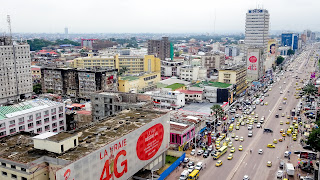 Kinshasa has 12 million people
