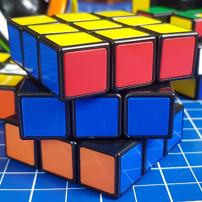 The classic Original Rubik's Cube Puzzle completed
