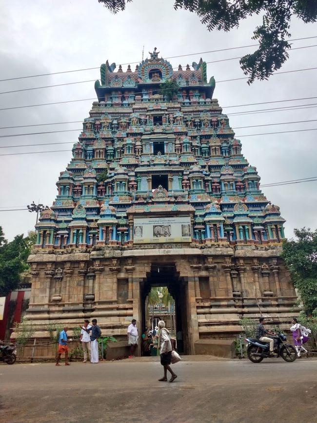 Thiruvalanchuzhi Temple Raja Gopuram