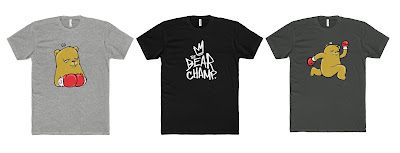 The Bear Champ Limited Edition T-Shirt Collection by JC Rivera
