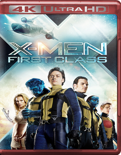 X-Men: First Class [2011] [UHD] [2160p] [Latino – Castellano]