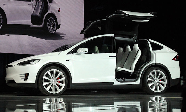 Tesla modelx electrikcar
