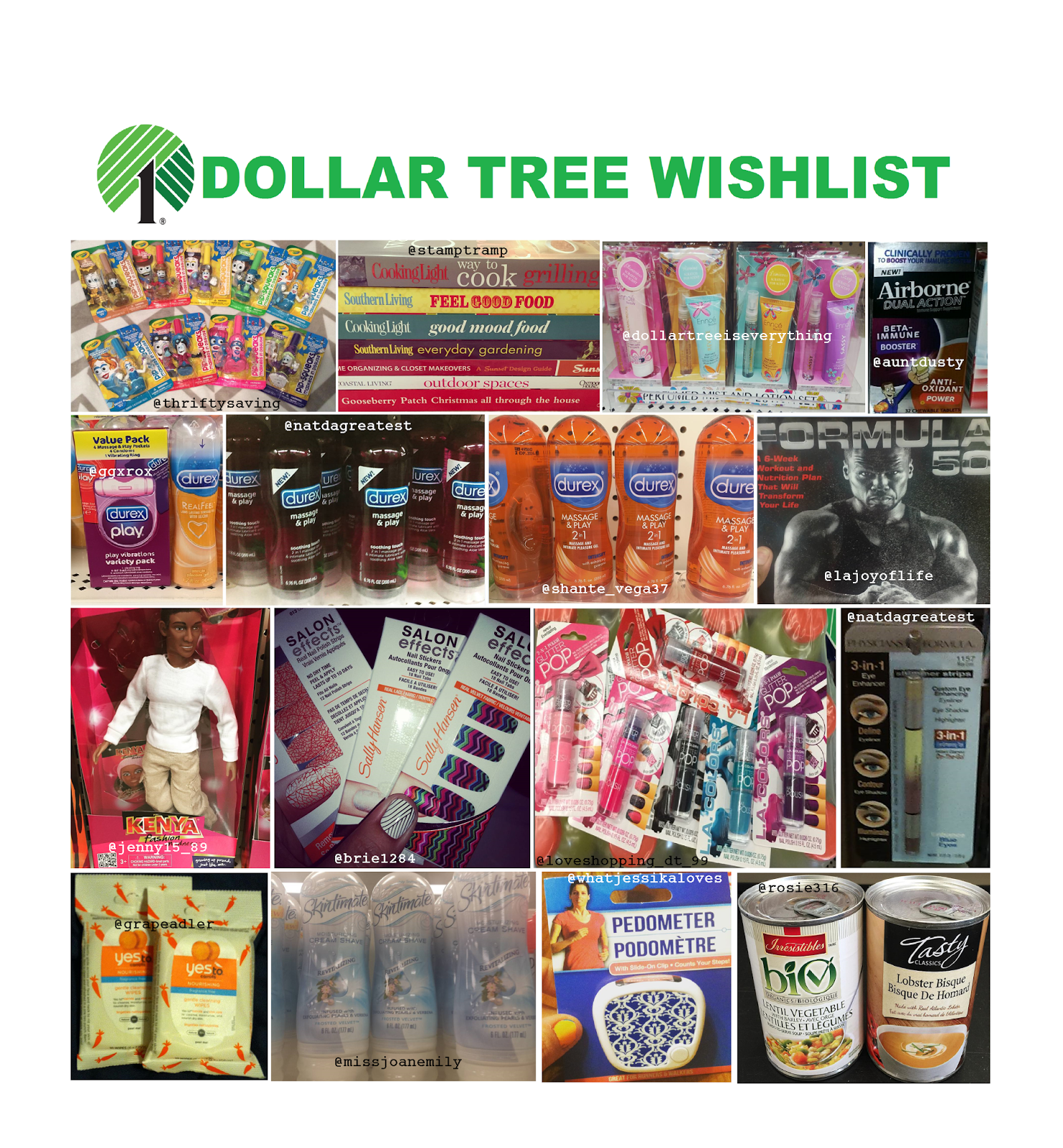 Dollar Tree Store Locator Inc: The Glossary: WIshlist Wednesday #3