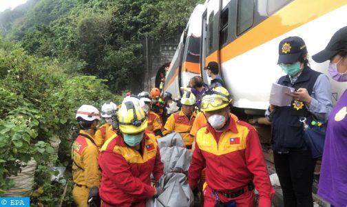 حصيلة جديدة: 51 قتيلا على الأقل إثر خروج قطار عن السكة داخل نفق في تايوان
