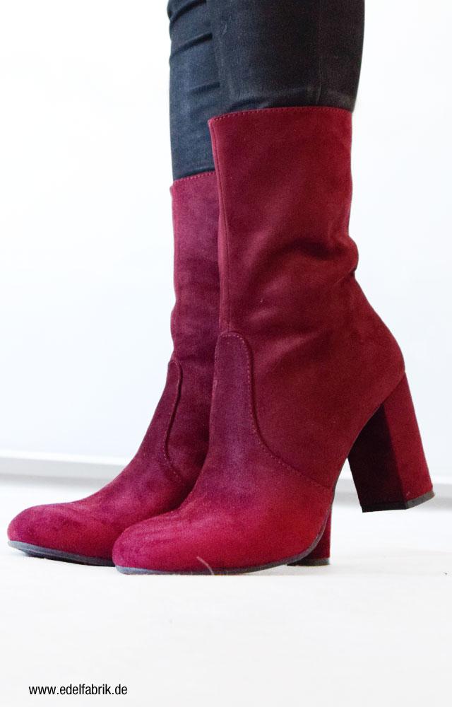 Stiefel mit halbem Schaft von Deichmann