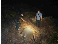 Sudah Membusuk,Mayat Ditemukan di Kebun Sawit Diketahui Bernama AZ Zebua