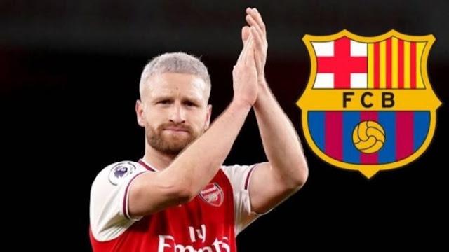 Shkodran Mustafi può diventare un calciatore del Barcellona
