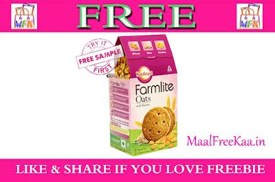 Free Sample Sunfeast Farmlite Biscuits
