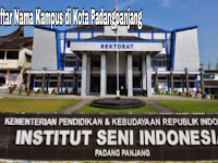 7+ Kampus Terbaik di Kota Padangpanjang