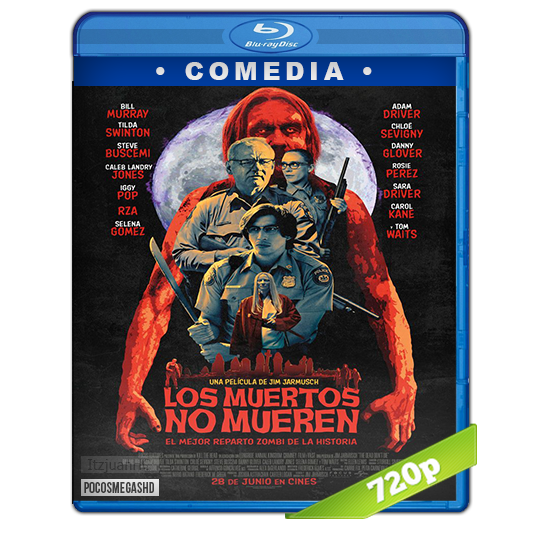 Los muertos no mueren (2019) BRRip 720p Audio Dual Latino-Ingles