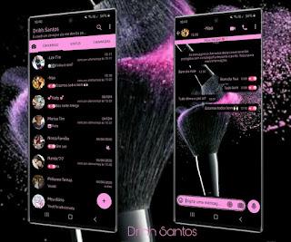 Make Pink Theme For YOWhatsApp & Fouad WhatsApp By Driih Santos
