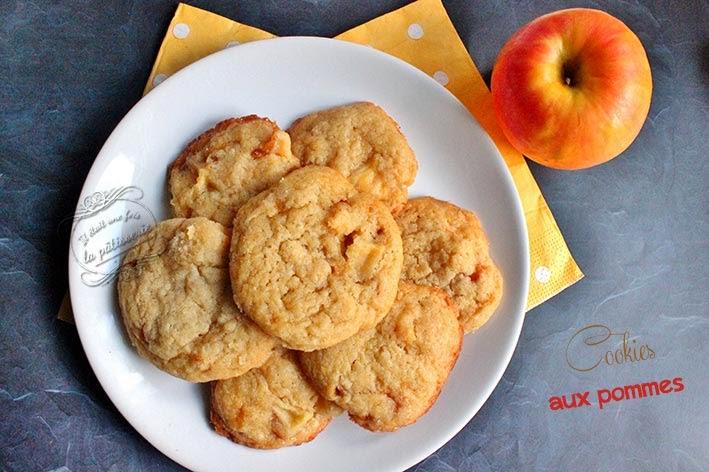 biscuits pommes caramélises