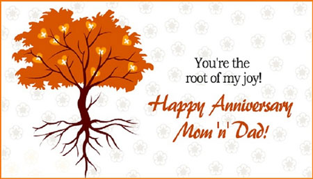 Parents Wedding Anniversary Wishes & Quotes from Son