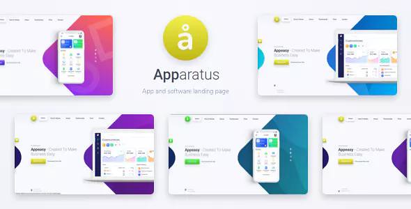 Apparatus | A Multi-Purpose One-Page Portfolio and App Landing Theme 1.4