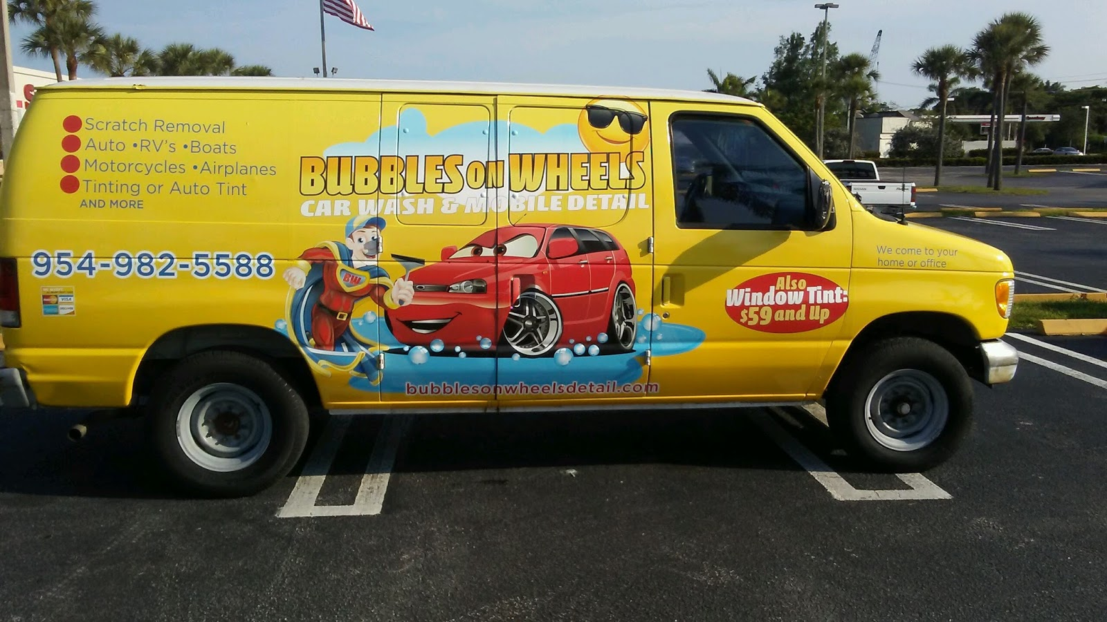 BUBBLES ON WHEELS CAR WASH, MOBILE CAR DETAIL - WE COME TO ...