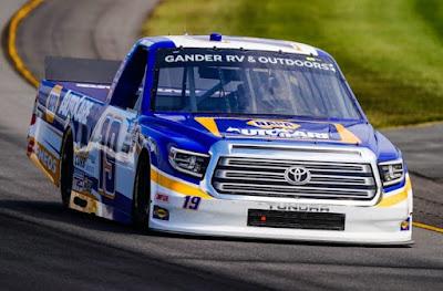 Derek Kraus - #NASCAR Camping World Truck Series #19