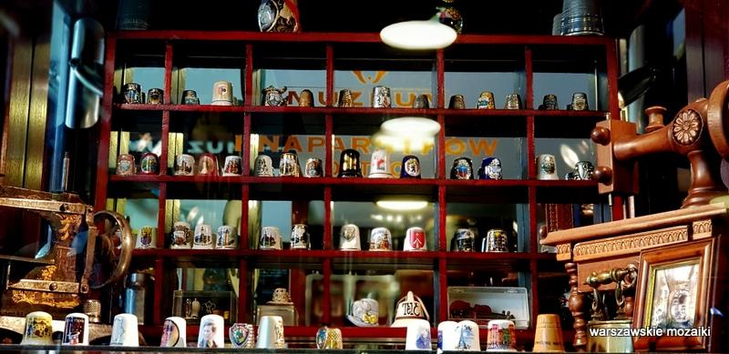 Warszawa Warsaw Grochowska Grochów muzea naparstki krawiectwo