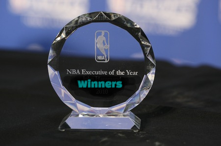 national basketball association, nba, Executive of the Year,  Award, past  Winners,  List.