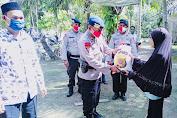 Brimob Batalyon C Pelopor Gelar Bhakti Sosial di Gampong Seunebok Pusaka
