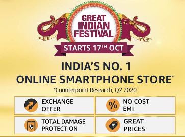Great India Festival Best Deals on Amazon