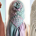 Teenager braids hair into stunning hairstyles that look like crochet patterns