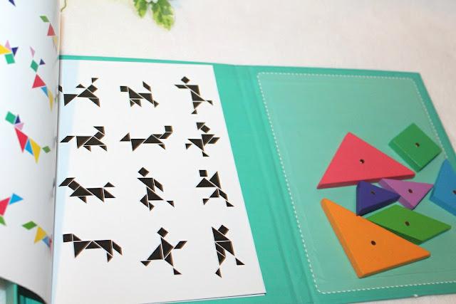jeu de tangram aimanté