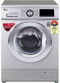 LG 8 kg 5 Star Inverter Fully Automatic Front Load Washing Machine (FHM1208ZD2)