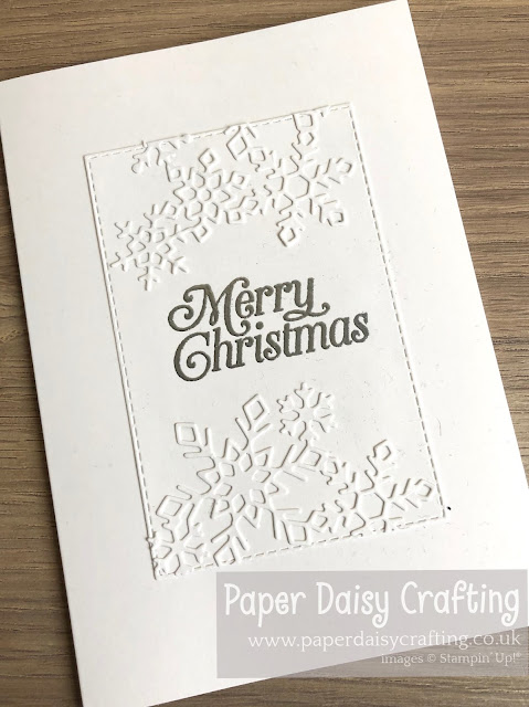 "Christmas Layers Stampin"" Up!"