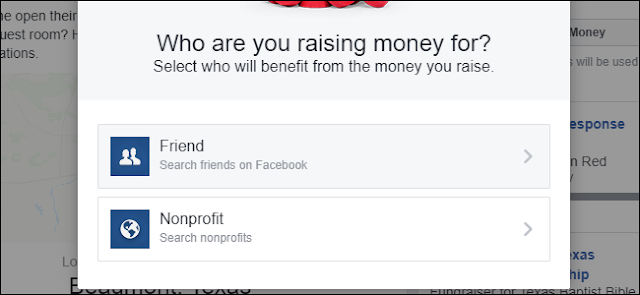 Raccolta denaro Facebook per amici