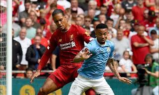 Liverpool vs Manchester City 1-1 (4-5) Community Shield Highlights