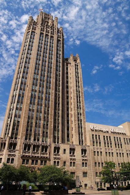 Tribune Tower à Chicago