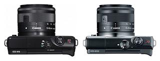Canon EOS M100 vs EOS M10