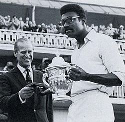 Clive Lloyd - Keith Boyce guides to West Indies lift the first world cup